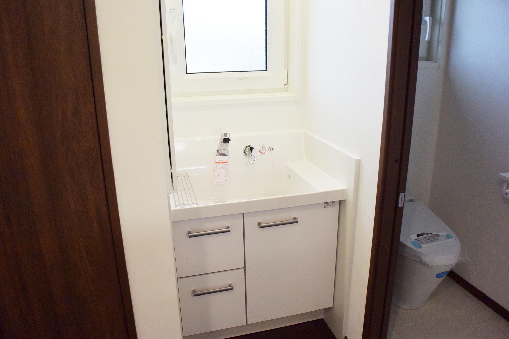 2F洗面スペース。