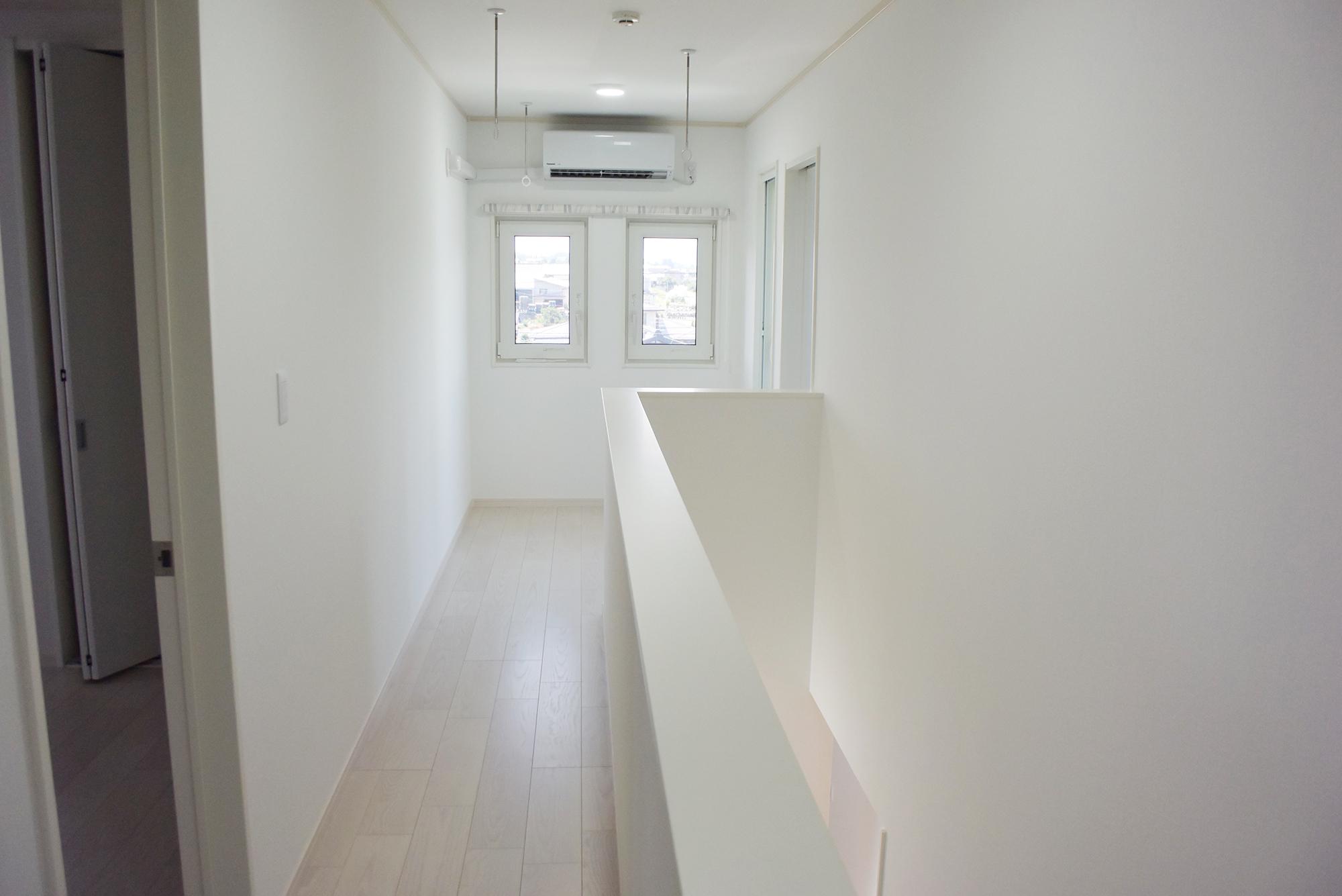 二階に上がると心地よい空間が広がります。