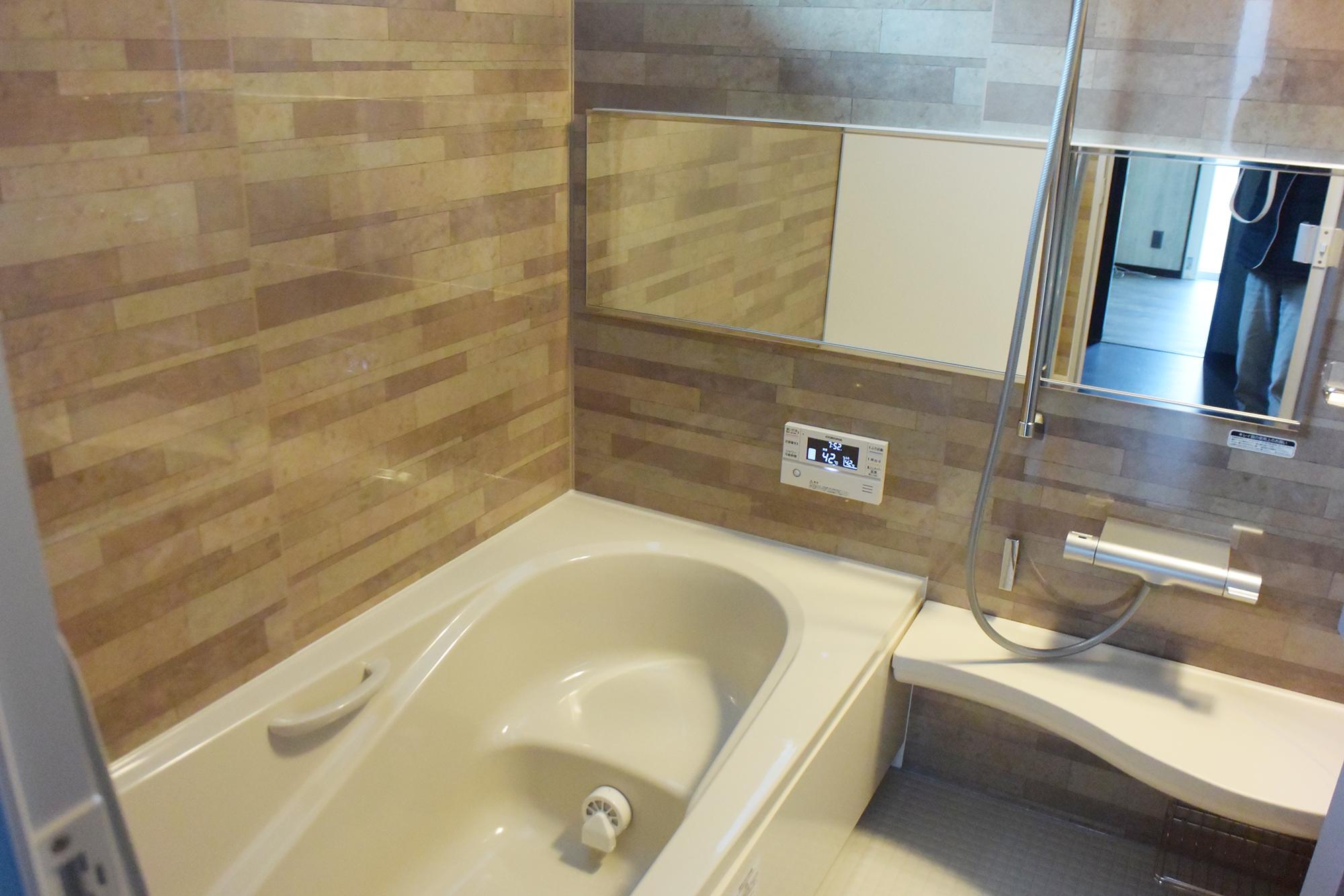 まさにくつろぎのひととき。1F浴室です。
